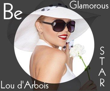 Be Lou d'Arbois glamorous star