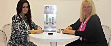 Lou d'Arbois at Beauty world Dubai